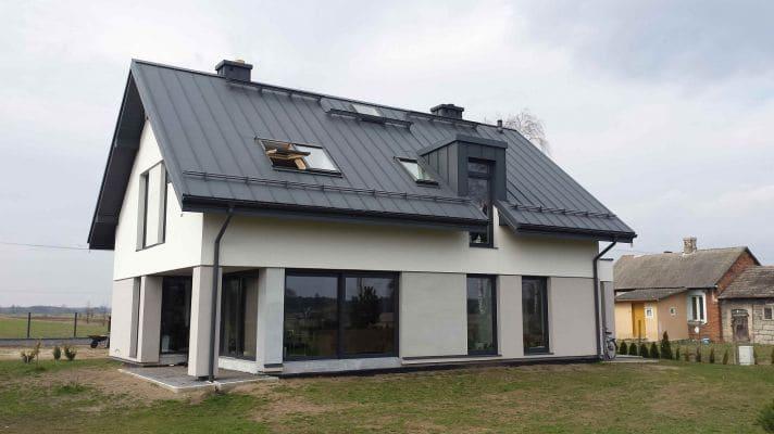 Dom jednorodzinny w m. Zawady k. Łowicza 1 scalia gallery metro - Nasze<br> budowy