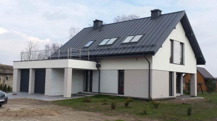 Dom jednorodzinny w m. Zawady k. Łowicza 2 scalia gallery metro - Nasze<br> budowy