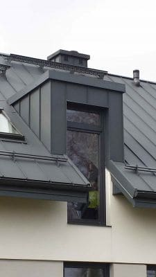Dom jednorodzinny w m. Zawady k. Łowicza detal lukarny scalia gallery metro - Nasze<br> budowy