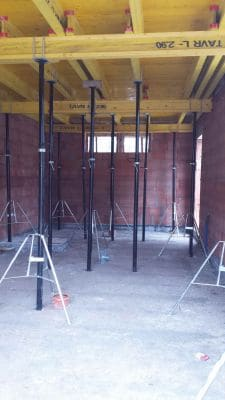Montaż więźby dachowej 2 scalia gallery metro - Nasze<br> budowy